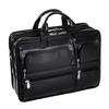 "McKlein HUBBARD 15"" Leather Double Compartment Laptop Briefcase~88435"