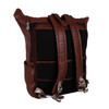"McKlein KENNEDY 17"" Leather Dual Access Laptop Backpack~8873"