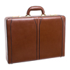 "McKlein LAWSON 3.5"" Leather Attaché Briefcase~8045"