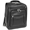 "McKlein LINCOLN PARK 15"" Leather Three-Way Backpack Laptop Briefcase~41655"
