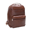 "McKlein PARKER 15"" Leather Dual Compartment Laptop Backpack~8855"