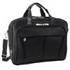 """McKlein PEARSON 17"""" Nylon Expandable Double Compartment Laptop Briefcase~74565"""