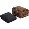 """McKlein RIVER WEST 15"""" Leather Fly-Through Checkpoint-Friendly Laptop Briefcase~1571"""