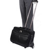 "McKlein ROOSEVELT 17"" Leather Patented Detachable Wheeled Laptop Briefcase~84555"