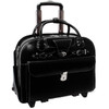 "McKlein ROSEVILLE 15"" Ladies' Leather Fly-Through Checkpoint-Friendly Patented Detachable Wheeled Laptop Briefcase~9664"