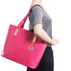 McKlein SAVARNA Ladies' Leather Tote with Tablet Pocket~9757
