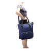 McKlein SOFIA 3-In-1 Ladies' Nylon Convertible Backpack Tote~1854