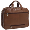"McKlein SPRINGFIELD 15"" Leather Fly-Through Checkpoint-Friendly Laptop Briefcase~86594"