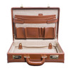 "McKlein TURNER 4.5"" Leather Expandable Attaché Briefcase~8048"