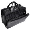 "McKlein WALTON 17"" Leather Expandable Double Compartment Laptop Briefcase w/ Removable Sleeve~83985"