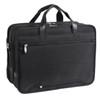"""McKlein WALTON 17"""" Nylon Expandable Double Compartment Laptop Briefcase w/ Removable Sleeve~73985"""