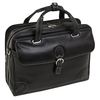 "Siamod CARUGETTO 15"" Leather Patented Detachable Wheeled Laptop Briefcase~4529"