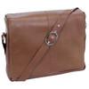 "Siamod SAN FRANCESCO 13"" Leather Messenger Bag~4535"