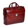 "Siamod SETTEMBRE 15"" Leather Medium Ladies' Laptop Briefcase~3552"