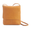 Colombian Leather Flap Over Crossbody Bag~626-VL