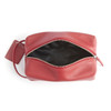 Genuine Leather Compact Toiletry Bag~256-5