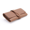 Genuine Leather Cord Organizer Roll~904-3