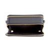 Mini Crossbody Bag in Pebbled Leather~938-BLACK-4