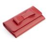 RFID Blocking Saffiano Bow Clutch Wallet~RFID-165-RED-2