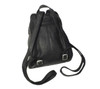"ROYCE 10"" Tablet Backpack in Colombian Genuine Leather~VLKNAP-BLK"