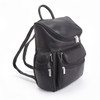 "ROYCE Executive 15"" Laptop Backpack Handcrafted in Colombian Genuine Leather~681-BLACK-VL"