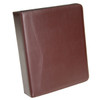 """ROYCE Executive 2"""" D Ring Binder in Leather~300-8"""
