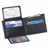 ROYCE Executive Bifold Wallet in Genuine Leather with Zippered Coin Slot~109-5