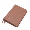 ROYCE Executive Convertible Zip-Around Binder and Writing Portfolio in Genuine Leather~305-5
