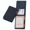 ROYCE Executive Note Jotter Organizer in Genuine Leather~710-BLACK-5