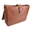 """ROYCE Executive Suede Lined 15"""" Laptop Messenger Bag Handcrafted in Genuine Leather~687-3"""