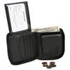 ROYCE Executive Zip-Around Bifold Wallet in Genuine Leather~120-6