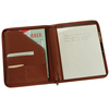 ROYCE Executive Zippered Writing Portfolio Organizer in Genuine Leather~746-5
