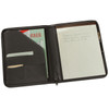 ROYCE Executive Zippered Writing Portfolio Organizer in Genuine Leather~746-5