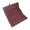 ROYCE Luxury Suede Lined Jewelry Roll in Genuine Leather~915-5