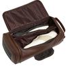 ROYCE Luxury Travel Shoe Bag Storage Handcrafted in Genuine Leather~677-5