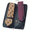 ROYCE Luxury Travel Tie Case and Cufflink Storage in Genuine Leather~900-5