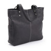 ROYCE Luxury Women's Hobo Shoulder Bag Handcrafted in Colombian Genuine Leather~678-BLACK-VL