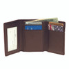 ROYCE Men's Trifold Credit Card ID Wallet in Genuine Leather~101-5