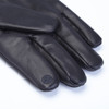 ROYCE Men's Premium Lambskin Leather Cellphone Tablet Touchscreen Gloves - Black~1001-1