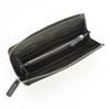 ROYCE RFID Blocking Continental Fan Wallet in Genuine Saffiano Leather~RFID-166-BLK-2