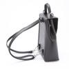 ROYCE RFID Blocking Convertible Backpack Handbag in Saffiano Leather~RFID-233-BLK-2