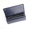 ROYCE RFID Blocking Large Bow Wallet in Saffiano Leather~RFID-165-2