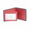 ROYCE RFID Blocking Men's Bifold Wallet in Genuine Leather with Double ID Display~RFID-110-5
