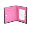 ROYCE RFID Blocking Mini Bow Wallet in Saffiano Leather~RFID-164-BLK-2