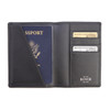 ROYCE RFID Blocking Passport Document Wallet in Saffiano Leather~RFID-209-2