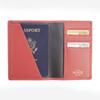 ROYCE RFID Blocking Passport Document Wallet in Saffiano Leather~RFID-209-2