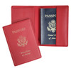 ROYCE RFID Blocking Passport Travel Document Organizer in Genuine Leather~RFID-202-5-2