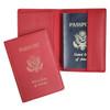ROYCE RFID Blocking Passport Travel Document Organizer in Genuine Leather~RFID-202-5