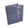ROYCE RFID Blocking Slim Travel Passport Wallet in Saffiano Genuine Leather~RFID-206-2