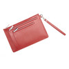 ROYCE RFID Blocking Zippered Document Organizer in Genuine Saffiano Leather~RFID-795-2